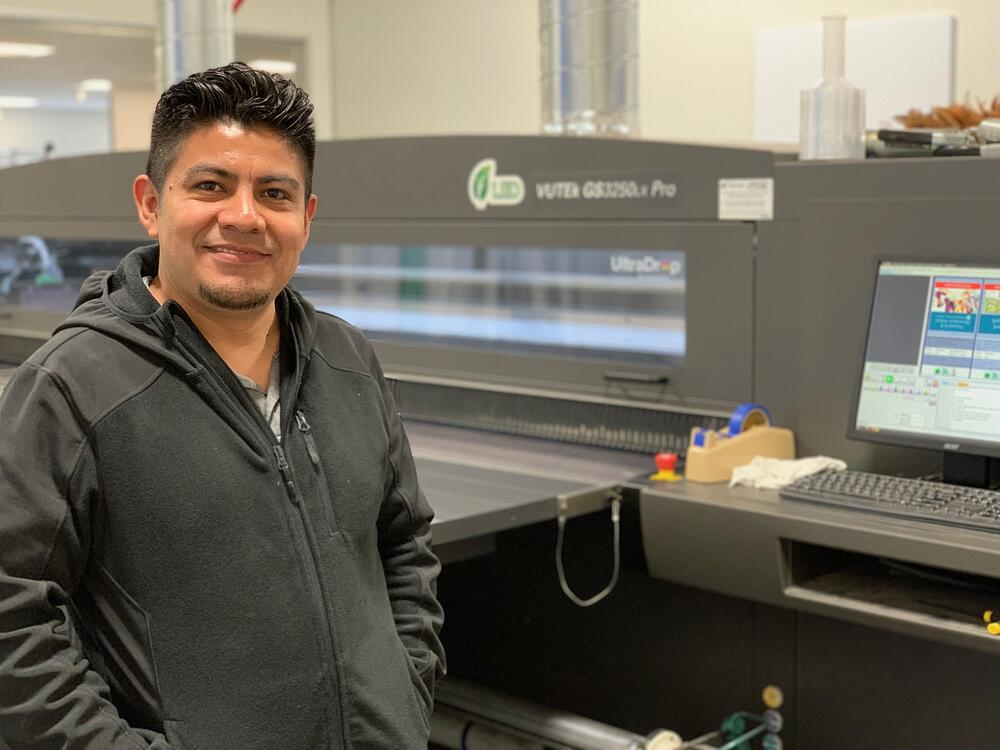 Marketshare printing expert Daniel Cruz